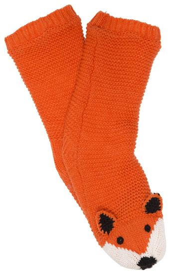 Calcetines zorro de punto tejido