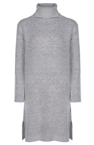 Primark vestido gris de punto