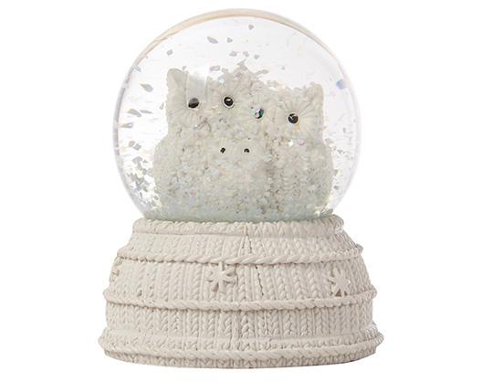Bola de cristal con nieve y b hos en primark - Bola nieve cristal ...