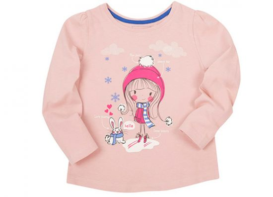camiseta color rosa