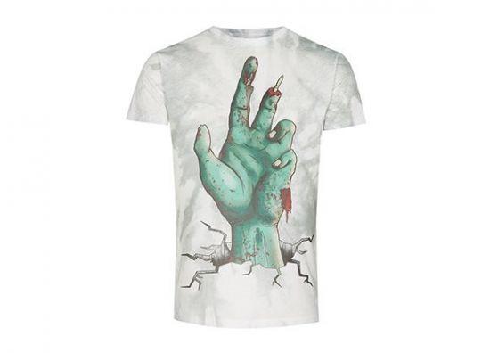 Camiseta zombie para Halloween