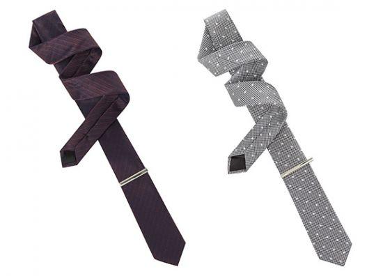 Set de corbatas Primark y clip