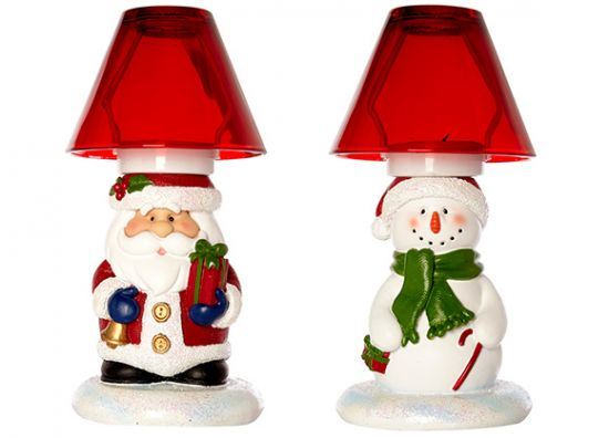 lámparas navideñas
