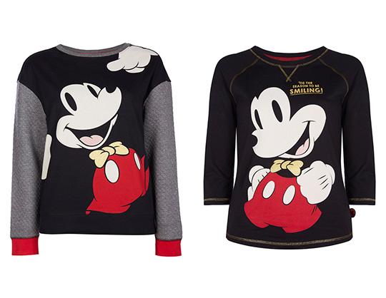 Camiseta y sudadera de Mickey