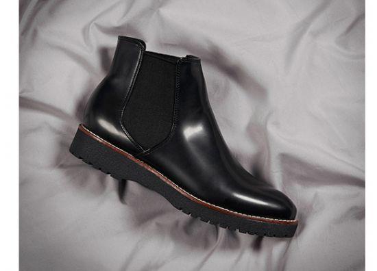 Zapato chelsea negro