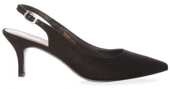 Zapato de tacón bajo con tira de tiendas Primark