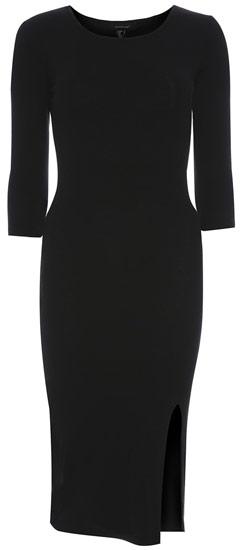Primark vestido negro largo