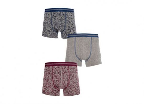Pack de 3 boxers