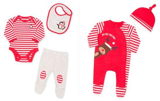 Conjunto navideños para bebés