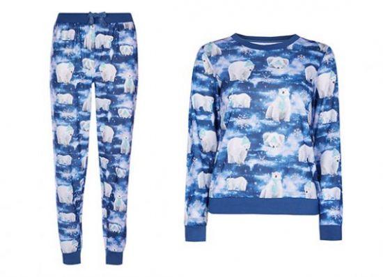 Pijama con osos polares