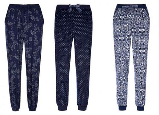 Pantalones pijama de mujer