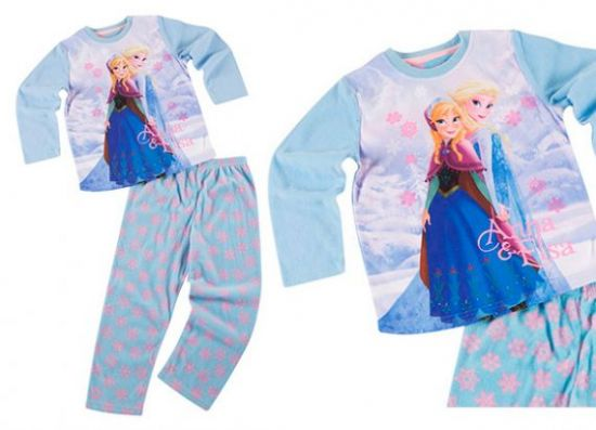 Pijama polar de Frozen