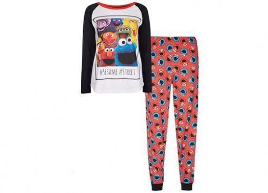 Pijama de Barrio Sésamo