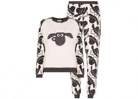 Pijama polar de La oveja Shaun