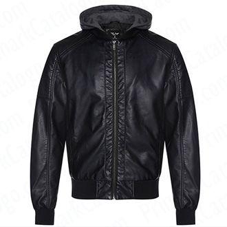chaqueta polipiel hombre