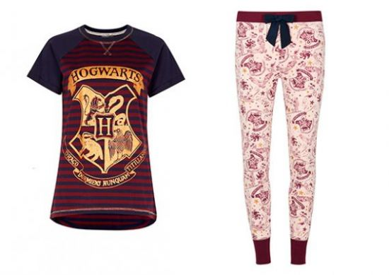 pijama de Harry Potter