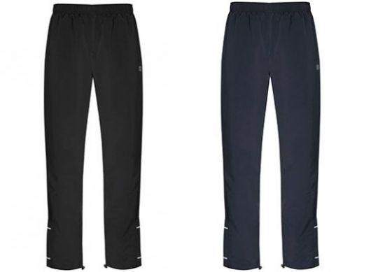 Pantalones de microfibra