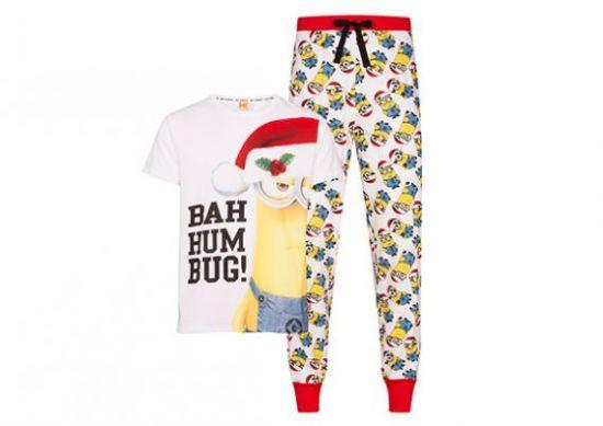 Pijama «Bah Humbug» de Los Minions