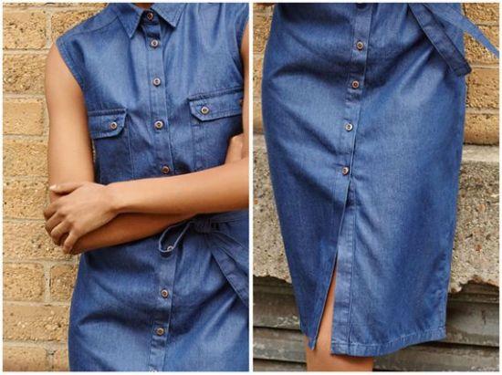 Primark vestido jean