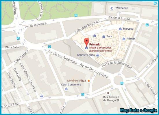 Primark tienda Malaga larios