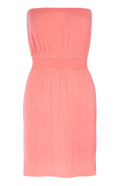 Primark vestido rosa corto