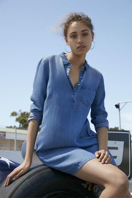 Primark vestido de jean