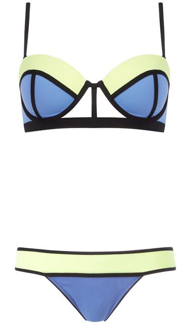 Un hermoso diseño de bikini