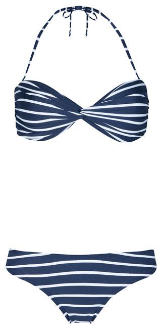Bikini a rayas de mujer Primark