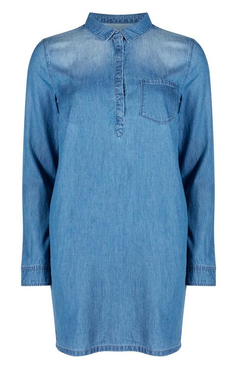 Vestido Primark de jean azul