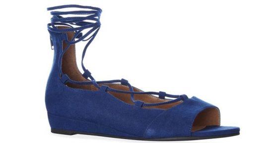 sandalias azules de Primark