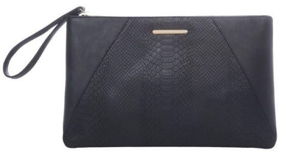 bolso de mano negro Primark