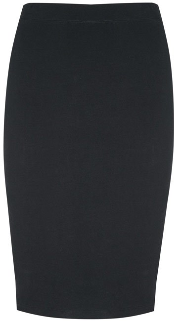 Falda negra Primark