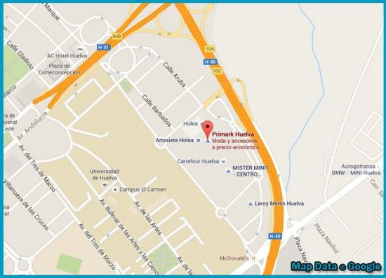 Catalogo Primark Huelva
