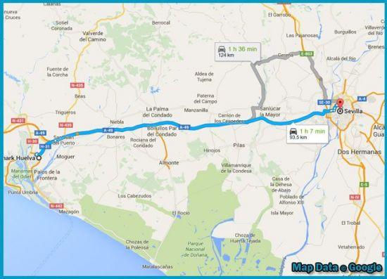 mapa Primark Sevilla