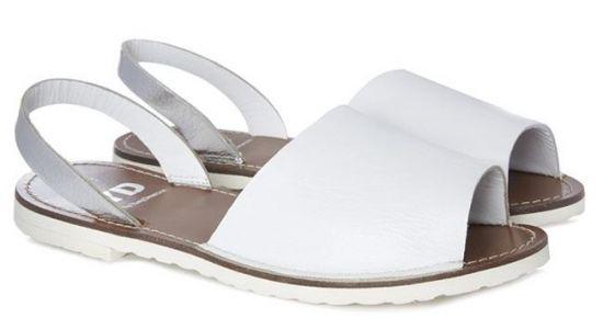 Sandalias de cuero de mujer Primark