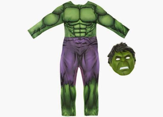 Primark disfraces de Hulk