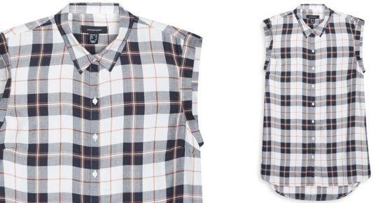 camisa a cuadros para mujer, dejate atrapar por el encanto de la moda de leñador