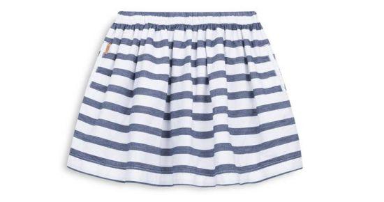 falda de niña a rayas Primark