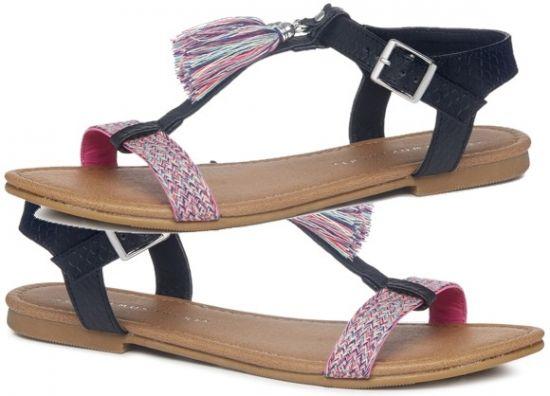 Primark sandalia de borlas coloridas