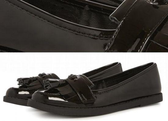 Zapatos para niñas negros