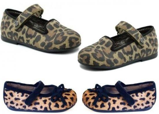 bailarinas leopardo niña