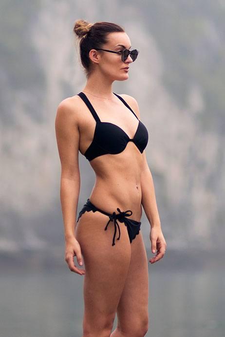 Primark bañadores bikini negro