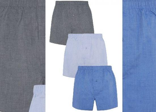 Calzoncillos boxer largos, ropa interior masculina