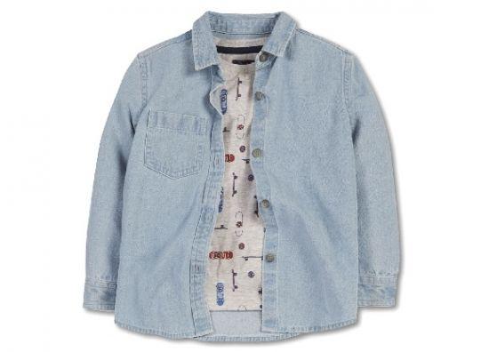 Compr ropa para ni os camisa celeste de primark for Oficinas primark madrid