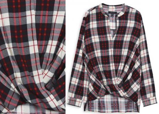 camisa a cuadros para mujer