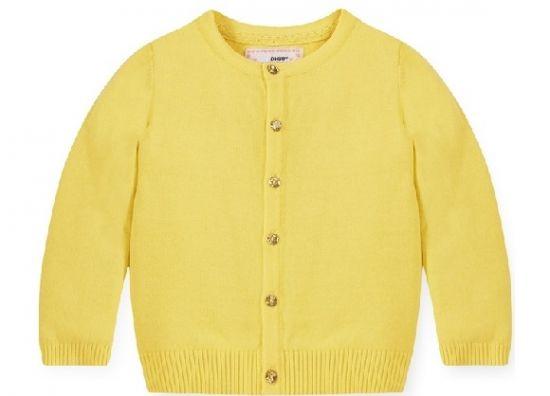 ropa bebe online cardigan amarillo