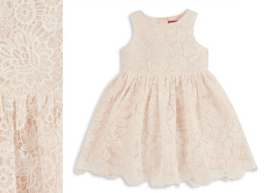 Vestido para bebé en color rosa