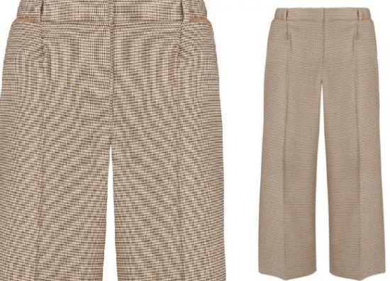 pantalones con pinzas de mujer
