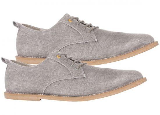 Zapatos grises con cordones para hombre mwxRW1BetG