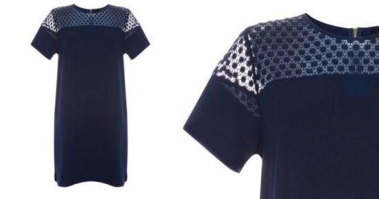 Vestido azul oscuro crep en primark la mejor tienda online for Oficinas primark madrid